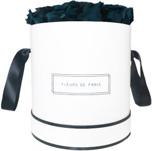 Infinity Collection Petrol Large white - round