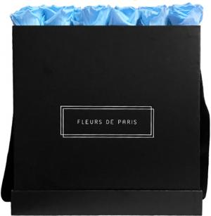 Infinity Collection Baby Blue Luxe black - square