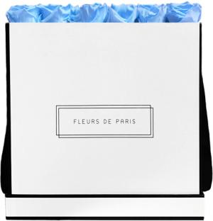 Infinity Collection Baby Blue Luxe white - square