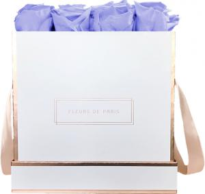 The Rosé Gold Collection Cool Lavender Large white - square