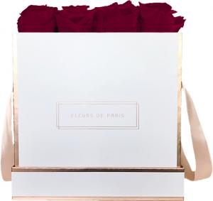 The Rosé Gold Collection Latin Cherry Large white - square