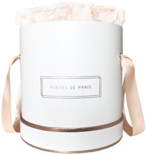 The Rosé Gold Collection Pastelle Peach Large white - round