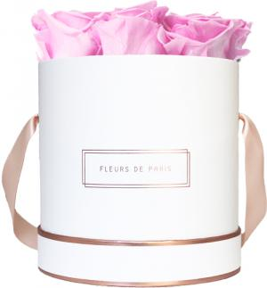 The Rosé Gold Collection Bridal Pink Medium white - round