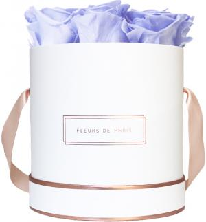 The Rosé Gold Collection Cool Lavender Medium white - round