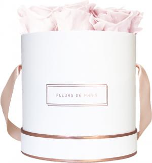 The Rosé Gold Collection Pastelle Pink Medium white - round
