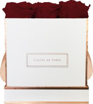 The Rosé Gold Collection Ruby Red Medium white - square