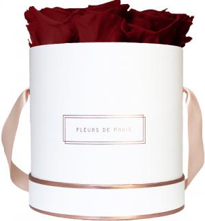 The Rosé Gold Collection Ruby Red Medium white - round