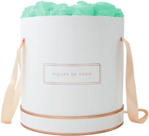 The Rosé Gold Collection Minty Green Petit Luxe white - round