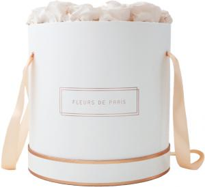 The Rosé Gold Collection Pastelle Peach Petit Luxe white - round