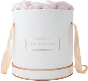The Rosé Gold Collection Pastelle Pink Petit Luxe white - round