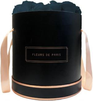 The Rosé Gold Collection Petrol Petit Luxe black - round