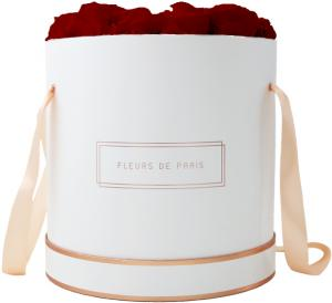 The Rosé Gold Collection Royal Red Petit Luxe white - round