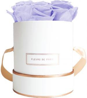 The Rosé Gold Collection Cool Lavender Small white - round
