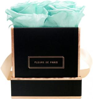 The Rosé Gold Collection Minty Green Small black - square