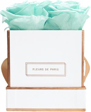The Rosé Gold Collection Minty Green Small white - square