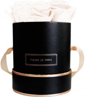 The Rosé Gold Collection Pastelle Peach Small black - round