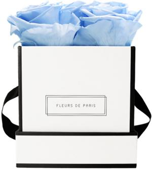Infinity Collection Baby Blue Small white - square