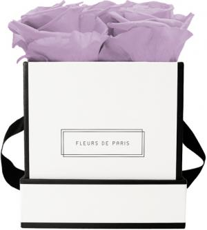 Infinity Collection Mauve Small white - square